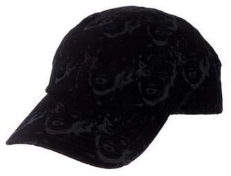 Philip Treacy Velvet Andy Warhol Baseball Hat