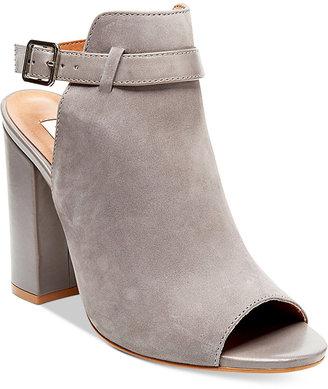 Steve Madden Women's Carnabi Block-Heel Peep-Toe Pumps $129 thestylecure.com