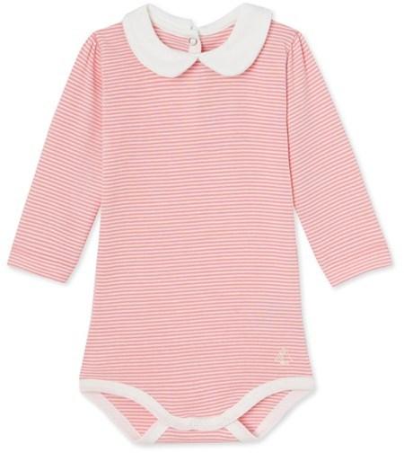 Baby girls milleraies striped bodysuit