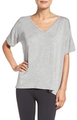 Women's Beyond Yoga Slit Back Tee $66 thestylecure.com