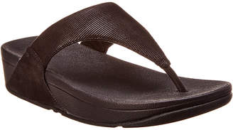 FitFlop Lulu Suede Thong Sandal