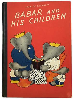 One Kings Lane Vintage Babar and His Children - Brandywine Bookshop