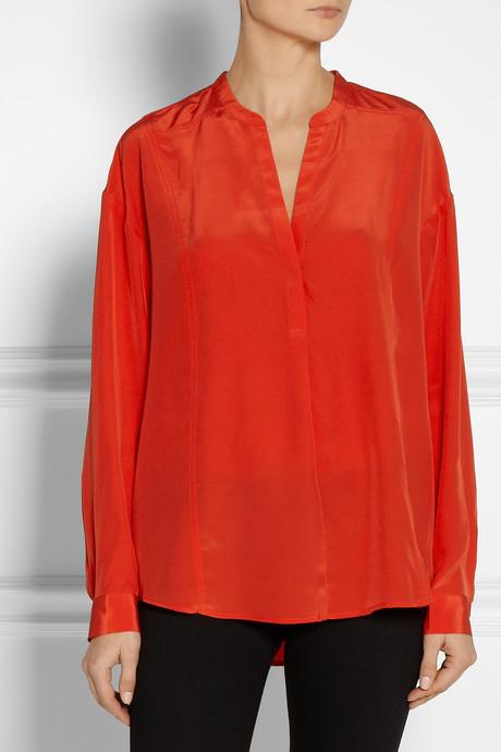 Elizabeth and James Pamela silk blouse