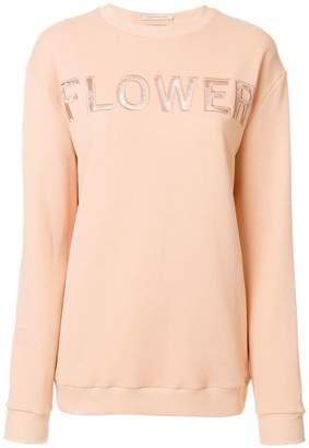 Christopher Kane Flower sweatshirt