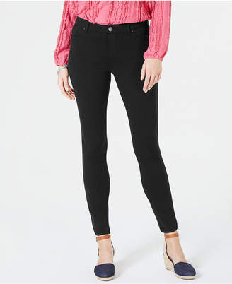 Style&Co. Style & Co Zippered-Hem Skinny Pants