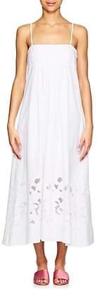 Barneys New York Women's Cotton Poplin Maxi Dress - White