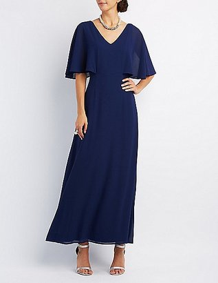 Flutter Sleeve Maxi Dress $49.99 thestylecure.com