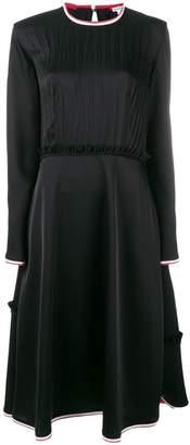 Loewe pleated top midi dress