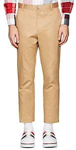 Thom Browne Men's Cotton Twill Classic Trousers - Camel