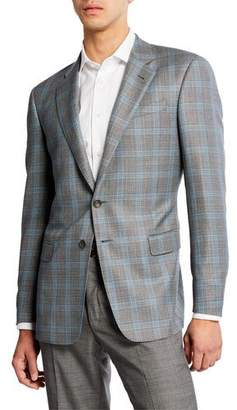 Giorgio Armani Men's Glen Plaid Sport Coat