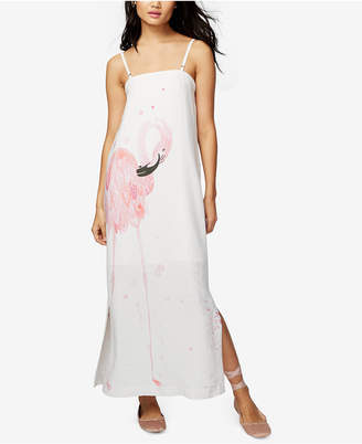 Rachel Rachel Roy Convertible Flamingo Graphic Maxi Dress, Created for Macy's $149 thestylecure.com