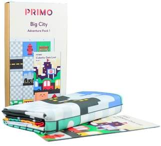 story. City Primo Toys Map & Book