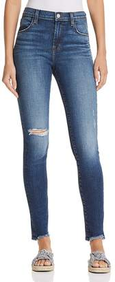 J Brand Maria High Rise Skinny Jeans in Persuade - 100% Exclusive