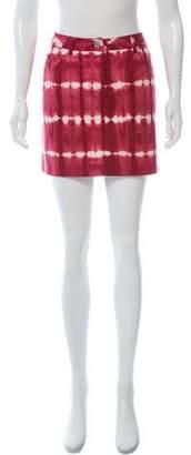 Michael Kors Tie-Dye Mini Skirt