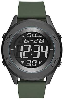 Skechers Men's Wiseburn Digital Metal and Silicone Chronograph Watch