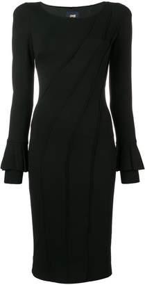 Class Roberto Cavalli fitted midi dress