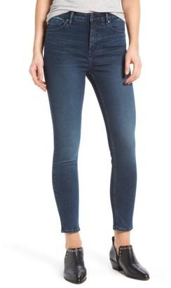 Women's Vigoss Jagger High Waist Skinny Jeans $64 thestylecure.com