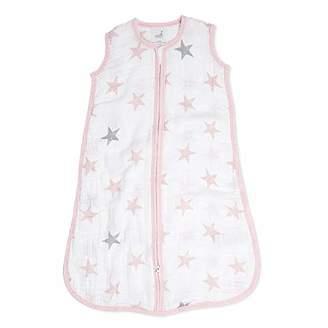 Aden Anais Aden by Aden + Anais Sleeping Bag, 100% Cotton Muslin, Doll - Stars, 6-12 Months