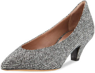 Tabitha Simmons Bella Herringbone 50mm Pumps