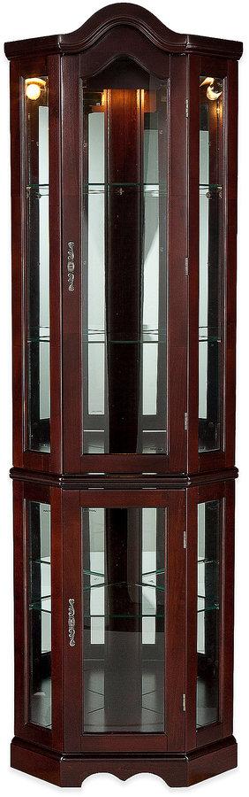 Bed Bath & BeyondSouthern Enterprises Lighted Corner Curio Cabinet