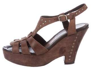 Henry Beguelin Leather Platform Sandals