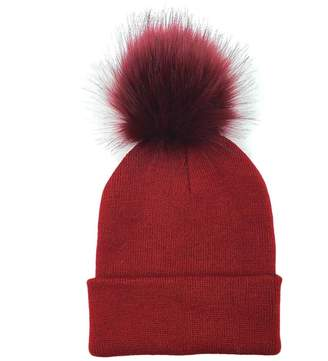 fea7aeecc9e at Amazon Canada · Gaweb Ladies Winter Warm Pom Pom Ball Bobble Hat Women Knitted  Beanie Plain Ski Cap