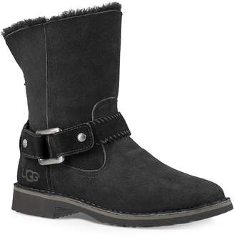 UGG Women's Cedric Fur-Lined Leather Boots