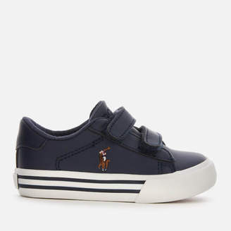 Polo Ralph Lauren Toddlers' Easten EZ Double Strap Trainers - Navy