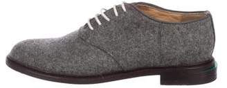 Band Of Outsiders Felt Lace-Up Oxfords