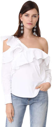 STYLEKEEPERS Look of Love Off Shoulder Top $116 thestylecure.com