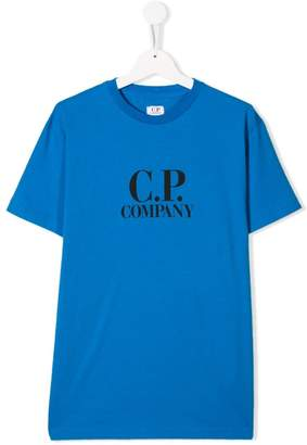 C.P. Company Kids logo T-shirt