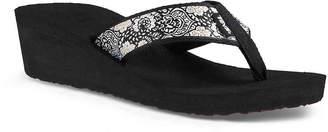 Teva New Mandalyn Wedge Flip Flop - Women's