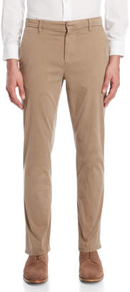 DKNY Tapered Slim Fit Sateen Pants