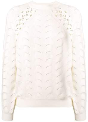 See by Chloe loose knit jumper