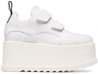 Stella McCartney White Eclypse Velcro Sneakers
