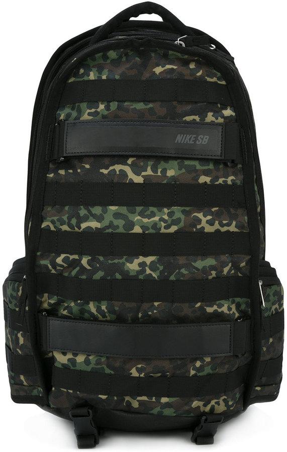 NikeNike camouflage panel backpack