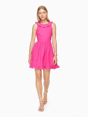 Kate Spade Ruffle back mini dress