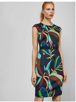 Ted Baker Printed Fitted Dress