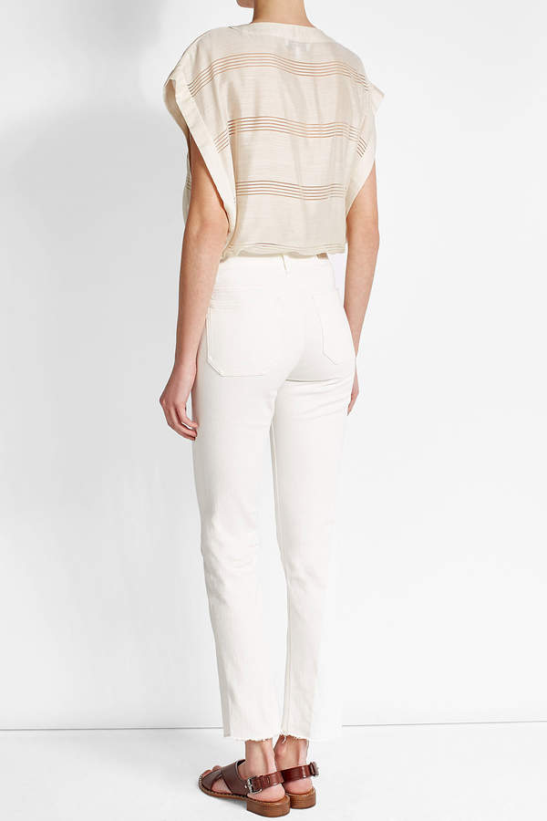MiH Jeans M i H High-Waisted Straight Jeans