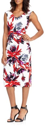 Women's Maggy London Firework Garden Midi Dress $128 thestylecure.com