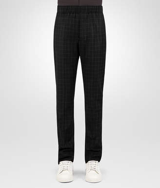 Bottega Veneta NERO WOOL FLANNEL PANT