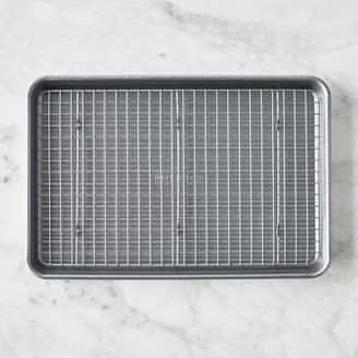 USA Pan Nonstick Quarter Sheet and Baking Rack