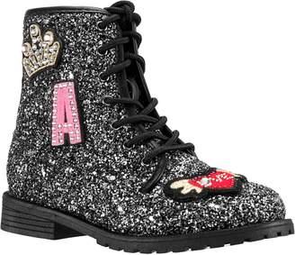 Nina Whitney Glitter High Top Sneaker