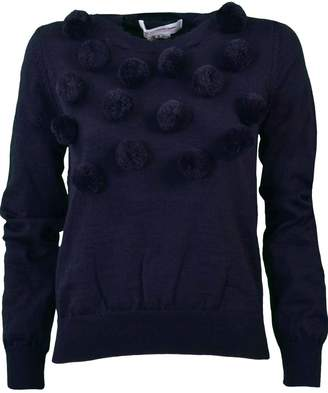 Comme des Garcons Comme Girl Pom Pom Knitted Sweater
