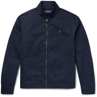 Polo Ralph Lauren Barracuta Slim-Fit Cotton-Twill Blouson Jacket