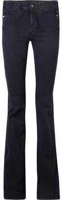 Stella McCartney The '70s High-rise Flared Jeans - Indigo