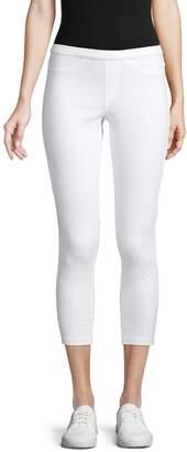 Hue Cotton Blend Cropped Pants