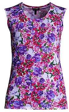 Escada Women's Siem Floral Print Shell Top