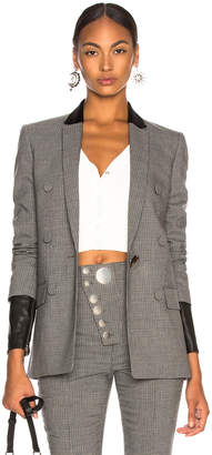 Alexander Wang Double Breasted Notch Blazer