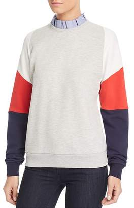 Scotch & Soda Color-Block Sweatshirt